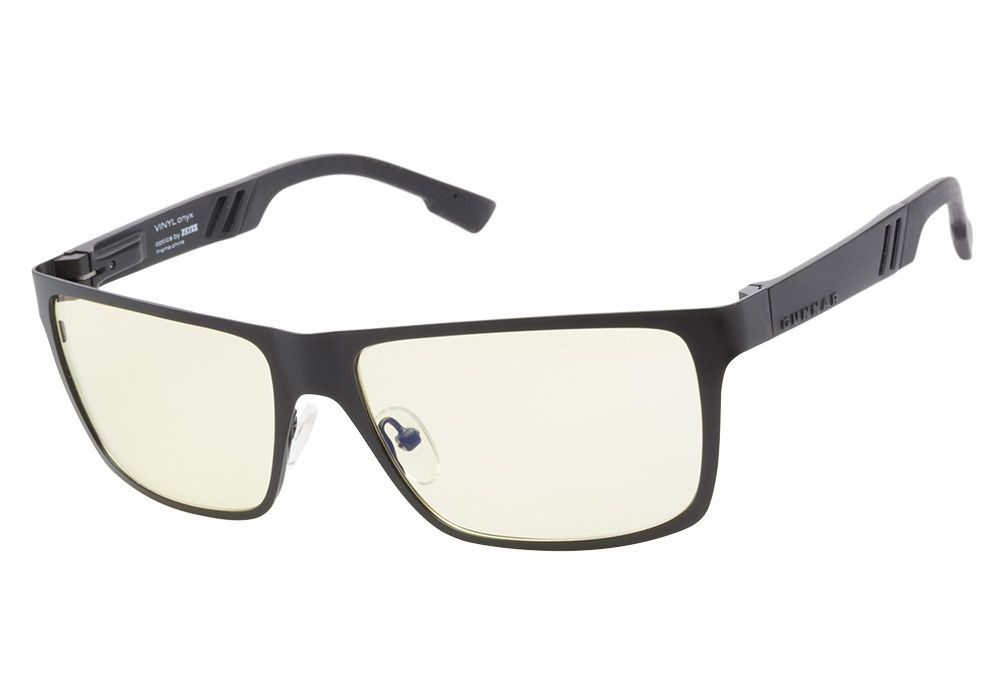 gunnar vinyl onyx gunnar digital performance eyewear