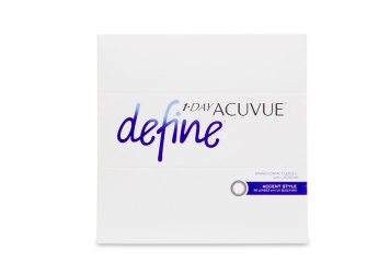 """Celebrate the one of a kind beauty of your own eyes with new 1 Day a href""""/contact-lenses/acuvue-define""""Acuvue Define contact lenses/a a line inspired by the unique allure of a everyones true natural colour. Using the same acclaimed design behind 1 Day Acuvue Moist these five new lenses offer superior comfort and use expertly blended designs to seamlessly compliment your eye colour brighten and highlight and bring dimension and definition without drastically changing your natural look."""