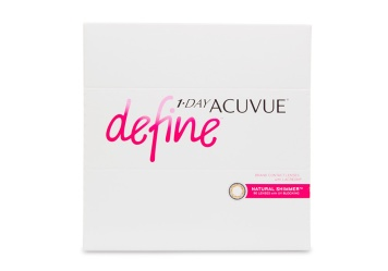 Image of 1 Day Acuvue Define Natural Shimmer 90 Pack