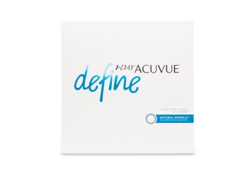 """Celebrate the one of a kind beauty of your own eyes with new 1 Day a href""""/contact-lenses/acuvue-define""""Acuvue Define contact lenses/a a line inspired by the unique allure of a everyones true natural color. Using the same acclaimed design behind 1 Day Acuvue Moist these five new lenses offer superior comfort and use expertly blended designs to seamlessly compliment your eye color brighten and highlight and bring dimension and definition without drastically changing your natural look."""