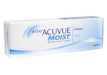 Annual Supply of 1-Day Acuvue Moist Contacts (30 Lenses Per Box)