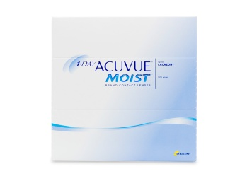 """1 Day Acuvue Moist 90 Pack Contact Lenses are a convenient way to wear your contacts  just wear them one day and throw them away! A breakthrough in a href""""/contact-lenses/daily-contacts""""daily disposable contacts/a 77% of wearers report that these contact lenses """"felt fresh and new all day long"""". Enjoy the feeling of a fresh clean contact lens every day with 1 Day Acuvue Moist 90 Pack from Johnson & Johnson's a href""""https://www.coastal.com/contact-lenses/acuvue""""Acuvue/a brand.   !-- brbrimg src""""/imageresources/Promos/hotspots/COM/05-12/contacts/05-1dayacuvuemoist90.gif"""" width""""441"""" height""""112"""" --br/"""