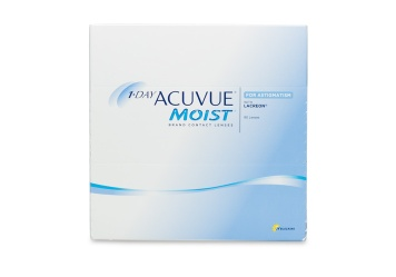 """1 Day Acuvue Moist for Astigmatism contact lenses are a convenient way to wear your contacts  just wear them one day and throw them away! Enjoy the feeling of a fresh clean contact lens every day with 1-DAY ACUVUE Moist for Astigmatism from a href""""http://www.coastal.com/contact-lenses/JandJ-contacts/cJandJ-p1.html""""Johnson and Johnson/a. These lenses are made specifically for people with astigmatism."""