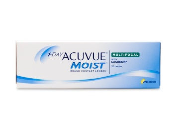 1 Day Acuvue Moist Multifocal 30 Pack Contact Lenses 30 Pack