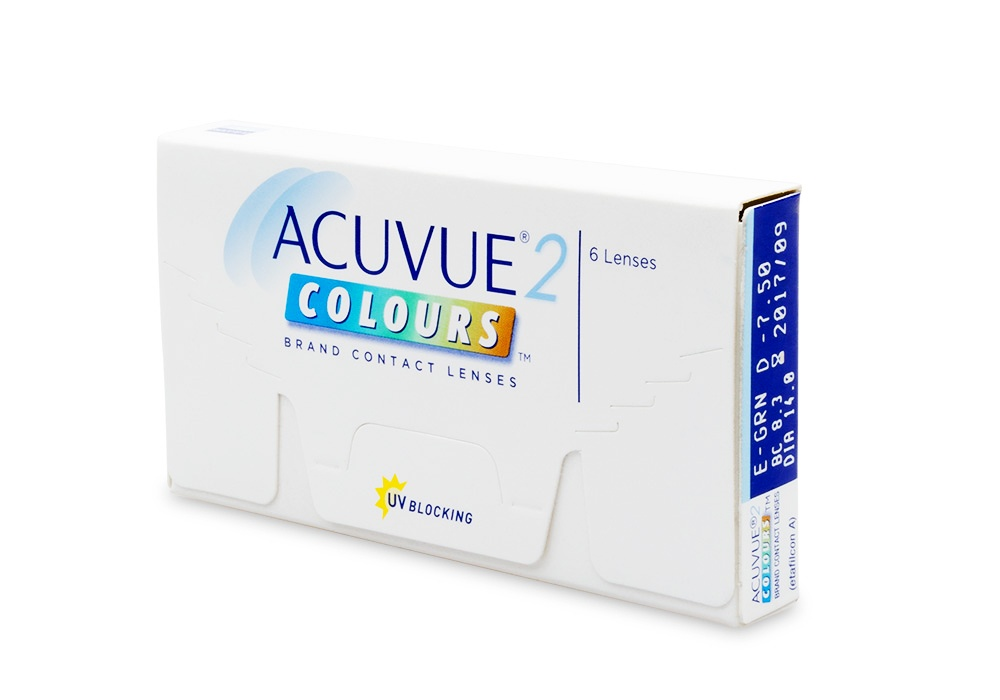 Acuvue  Colors Opaques For Dark Eyes Review