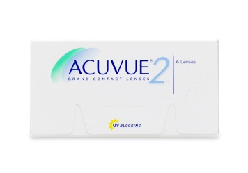 JOHNSON & JOHNSON Acuvue 2 Weekly Disposable Contact Lenses 6 Pack