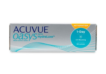 Acuvue Oasys 1-Day for Astigmatism 30 pack Contact Lenses...