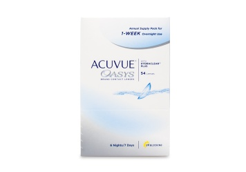 Acuvue Oasys 1-Week Overnight - 54 Pack Contact Lenses 54...