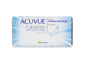 Acuvue Oasys 24 Weekly Disposable Clear Contact Lens