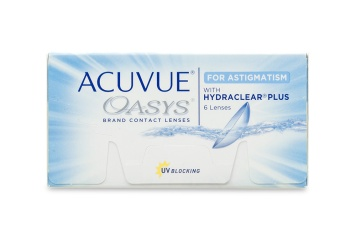 Acuvue Oasys for Astigmatism Contact Lenses 6 Pack