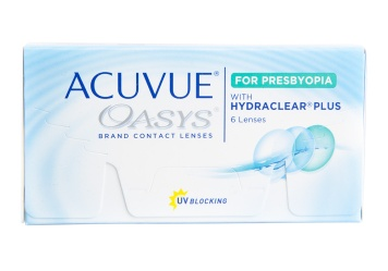 Acuvue Oasys for Presbyopia Bifocal Contact Lens