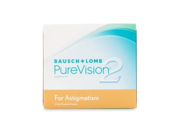 Purevision 2 for Astigmatism Contact Lenses 6 Pack
