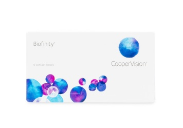 Cooper Vision Biofinity Monthly Disposable Contact Lenses...