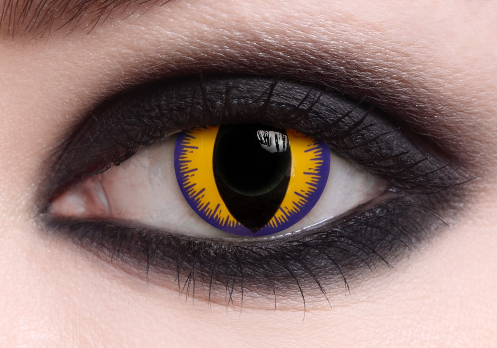 What is the most stupid Yellow Cat Eyes Contacts