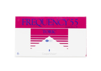 Frequency 55 Toric XR Toric Contact Lens