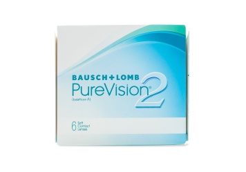 PureVision 2 Monthly Disposable Contact Lenses 6 Pack