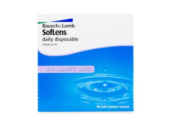 Soflens Daily Disposable 90 Pack Clear Contact Lens