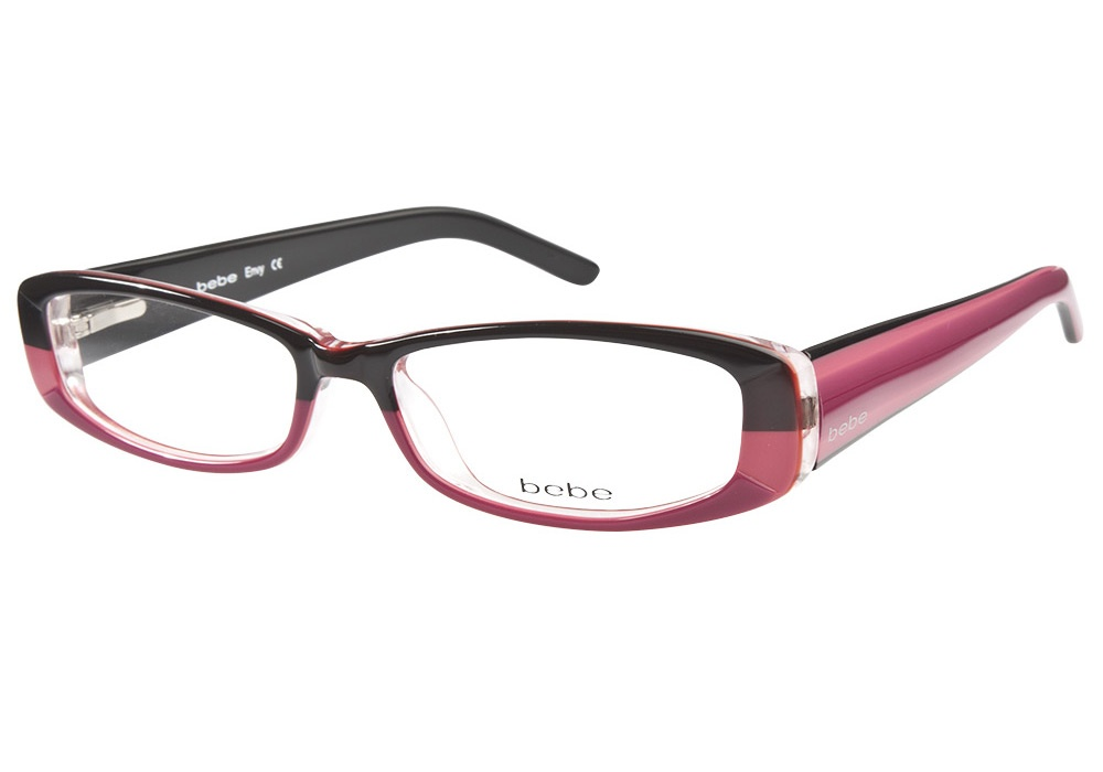Bebe Envy Eyeglass Frames : Bebe Envy Haute Pink Bebe Glasses - Coastal Contacts