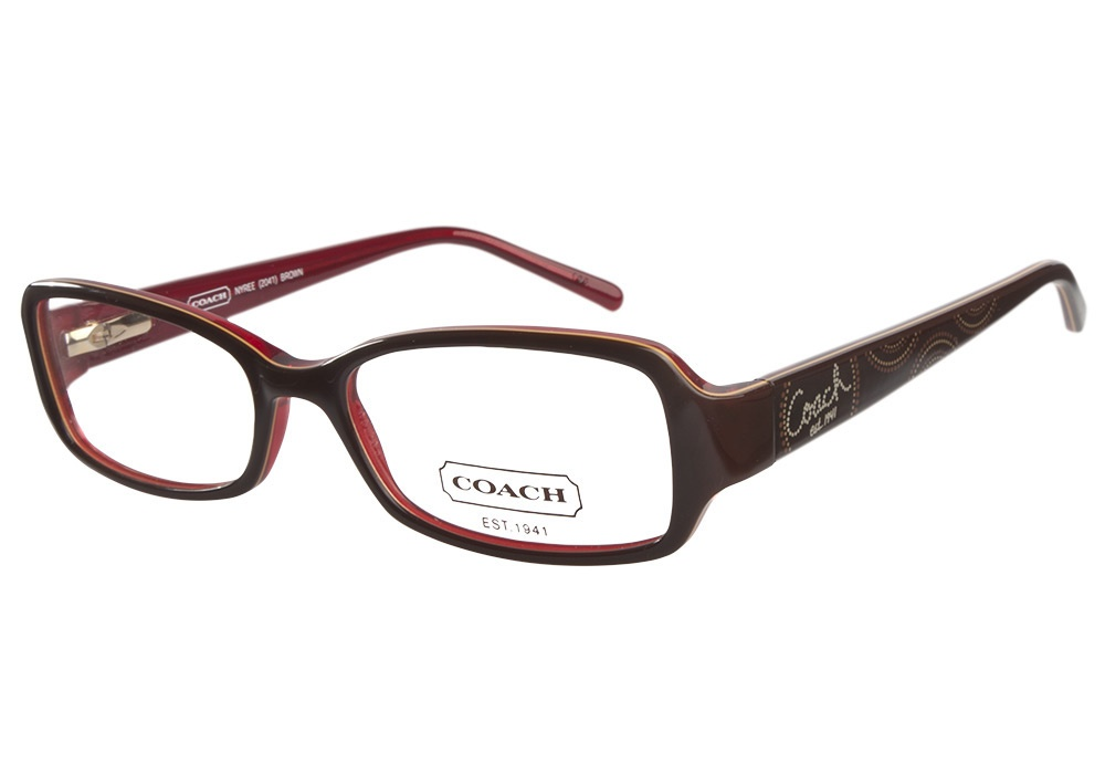 Coach Eyeglass Frames Savannah : Coach Nyree 2041 237 Brown Coach Glasses - Coastal