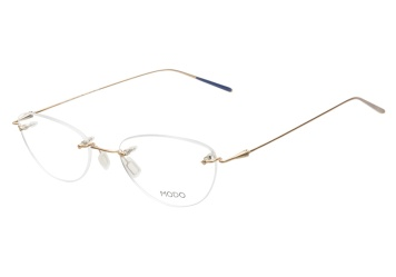 9df0a2eaeec Modo 140 Brushed Gold Eyeglasses — ViewTry