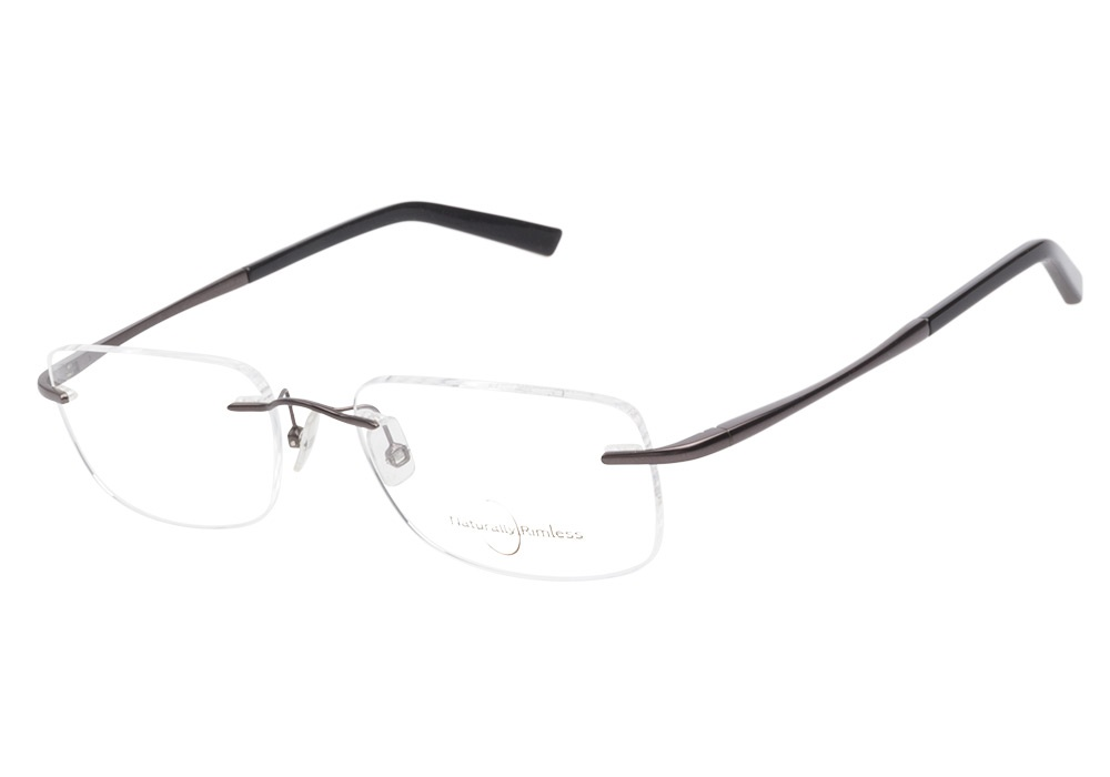 Rimless Glasses : Naturally Rimless Glasses Naturally Rimless 147 Brown ...