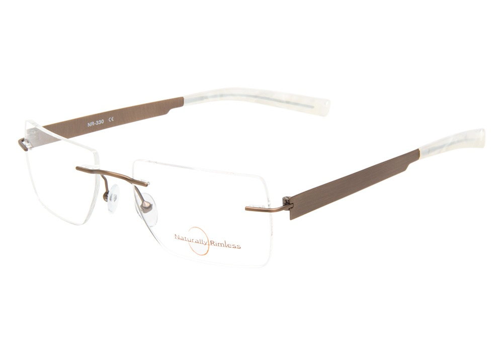 Rimless Glasses : Naturally Rimless Glasses Naturallyy Rimless 330 Sage ...