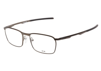 53489c2286 Oakley Conductor Ox3186 0252 Pewter Eyeglasses — ViewTry