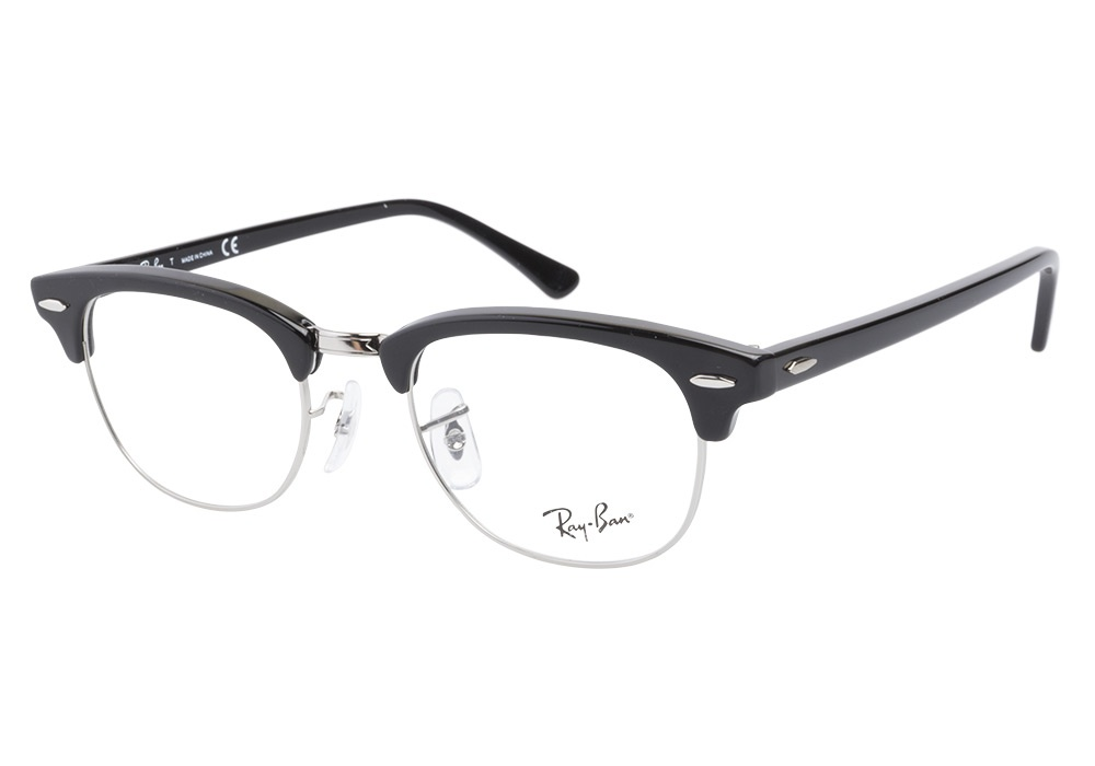 Ray Ban Glasses Without Frame : Ray-Ban 5154 2000 Shiny Black Ray-Ban Glasses ...