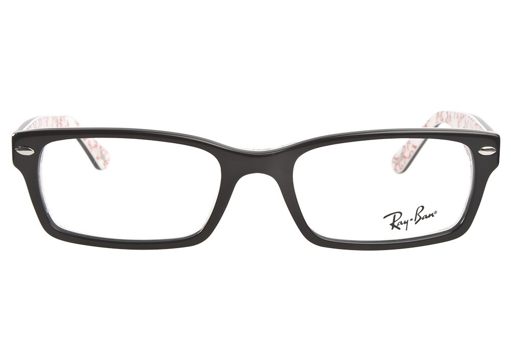 black and white ray ban glasses