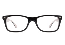 Ray-Ban RB5228 5014 Black White Texture