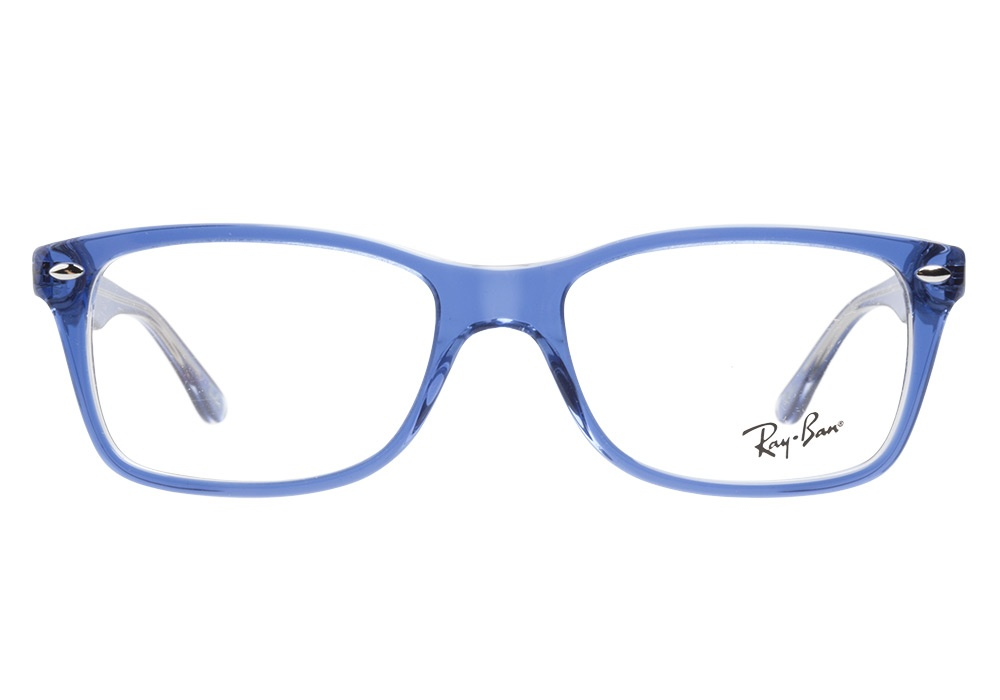 Eyeglass Frames Blue Moon : Ray-Ban 5228 5111 Top Light Blue Transparent Ray-Ban ...
