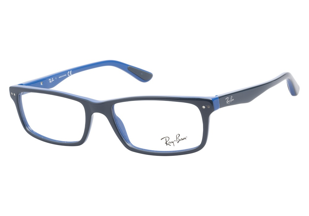 Glasses With Blue Frames : Ray-Ban RB5277 5137 Oil Blue Ray-Ban Glasses - Coastal.com