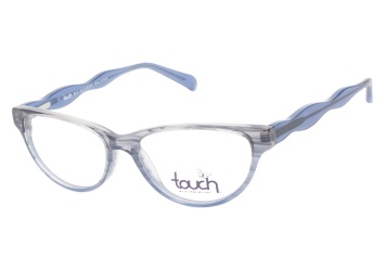 1e98ef0d79d Touch By Alyssa Milano 111 Blue Eyeglasses — ViewTry