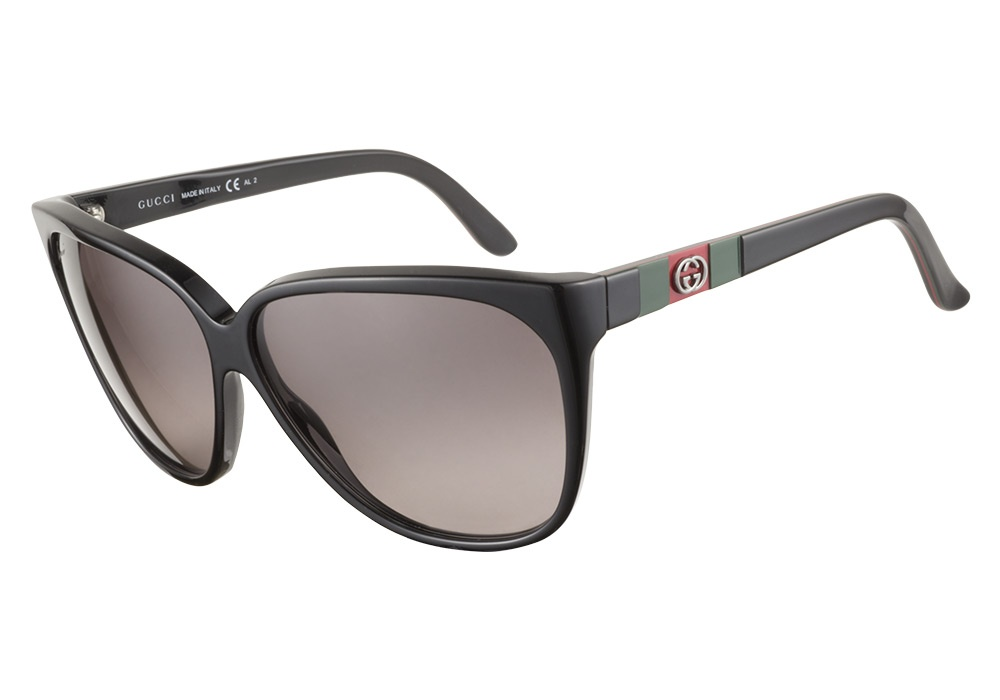 83d50a0e4 Gucci Aviator Sunglasses Deep Grey Red Green | City of Kenmore ...