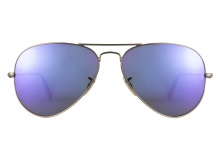 Ray-Ban 3025 167 1M Violet Mirror 58