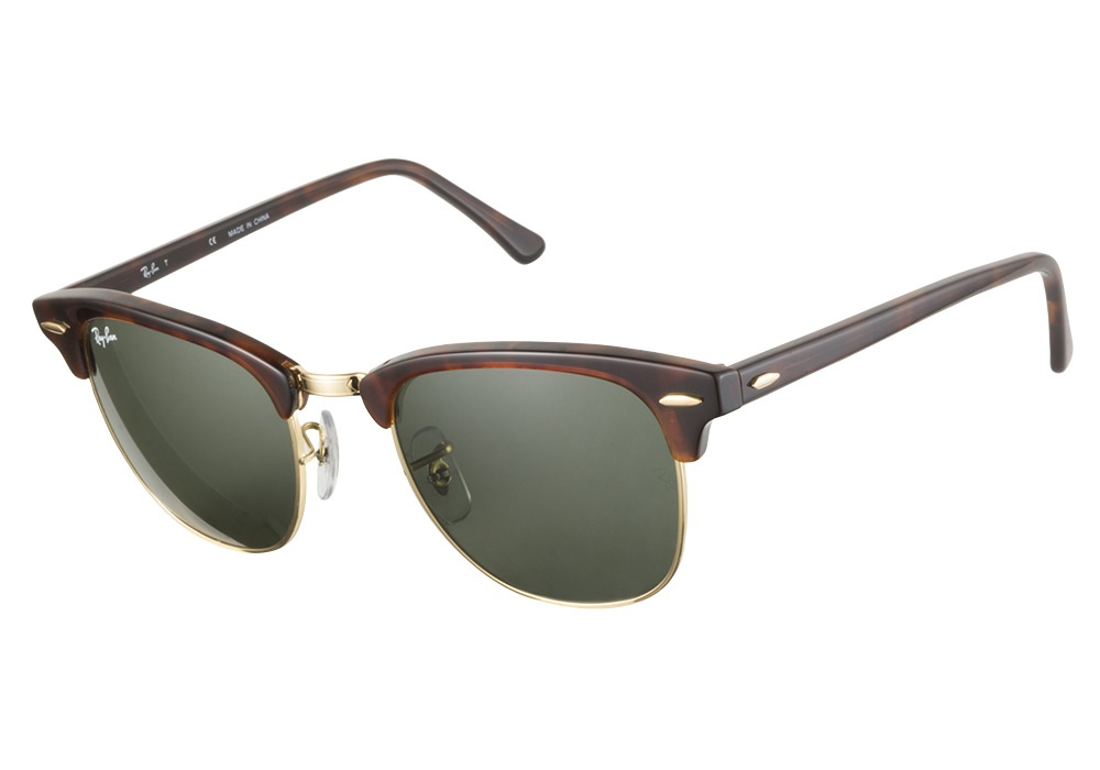 Ray Ban Oversized D Frame Glasses : Ray-Ban RB3016 W0366 Clubmaster Tortoise 51 Ray-Ban ...