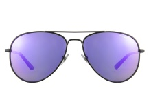 Arnette Trooper 3065 01 501 4V Matte Black Purple Mirrored