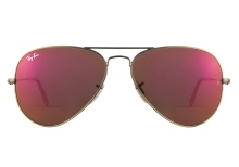 Ray-Ban 3025 167 2K Red Mirror 58