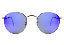 Ray-Ban 3447 167 68 Blue Mirror 50